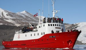 polar girl boat